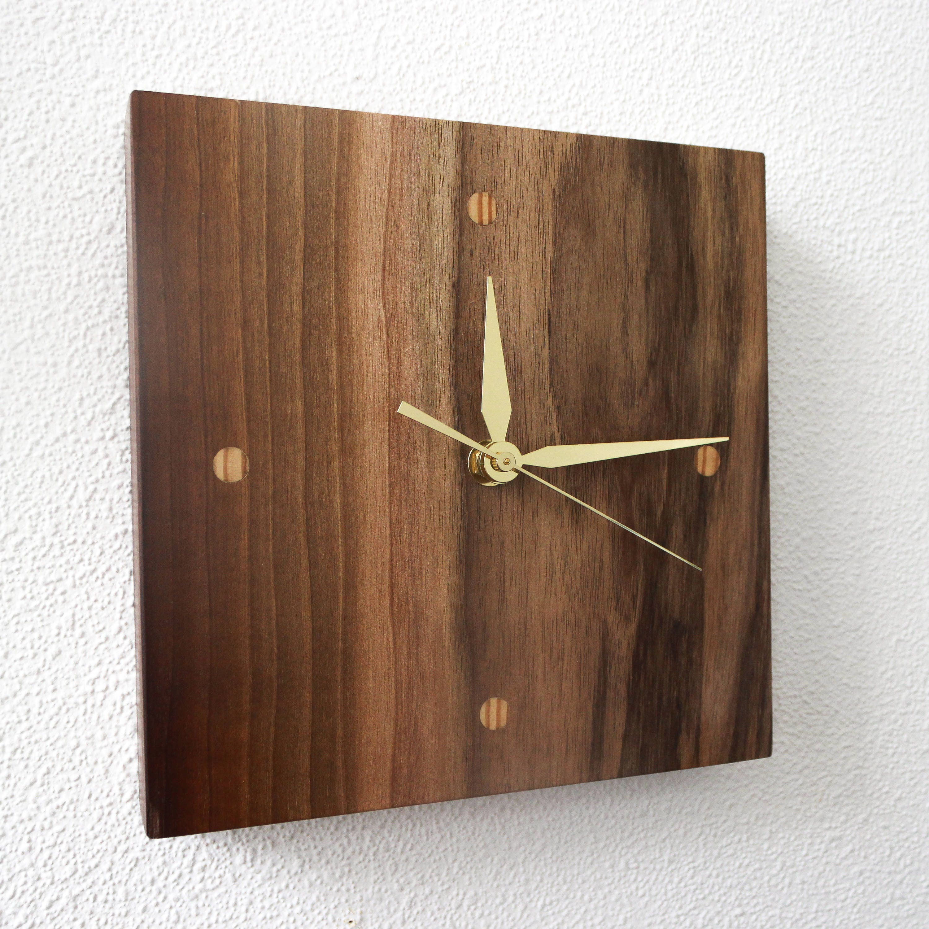 Unique wall clocks wall clock modern wood clocks small zoom amipublicfo Image collections