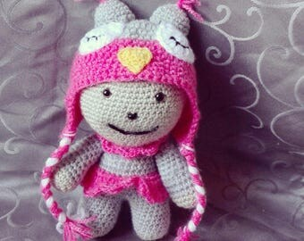 Doll size 23cm ideal for little ones