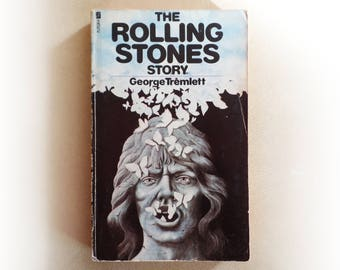 George Tremlett - The Rolling Stones Story - Biography Mick Jagger music vintage paperback book - 1974