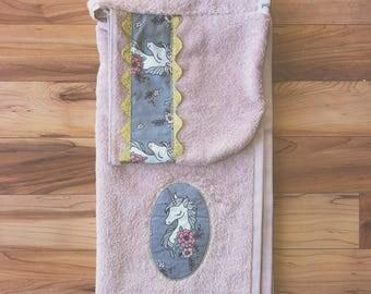 Unicorn Dreams Premium Quality Hooded Towel
