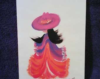 NATIVEAMERICAN DANCER Greeting Card