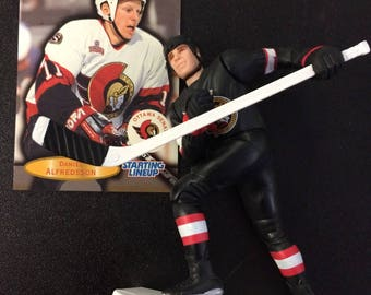 Starting Lineup - Daniel Alfredsson Figure by Kenner - NHL Player