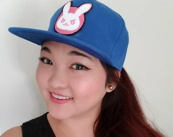 Overwatch D.Va inspired Bunny Patch Hat