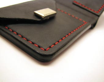 Leather wallet. Portmone. Handmade wallet