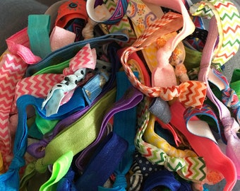 Bulk Hair Ties; Legging Hair Ties; Elastic Hair Ties; Hair Ties; Sale Hair Ties; Hair Ties Grab Bag