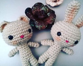 Little Amigurumi bear or Bunny in disguise