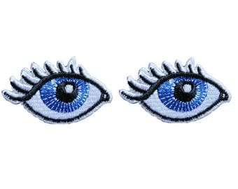 Eye Patches Applique Embroidered Iron on Patch