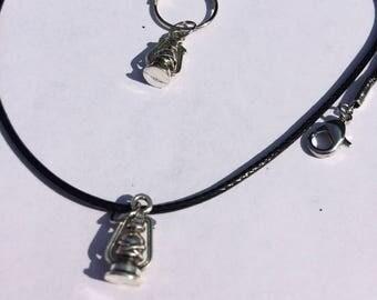 Lantern Matching Bridle Charm & Necklace
