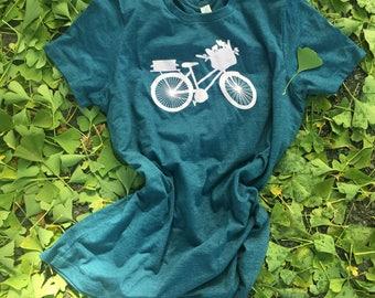 Basket & Bike Woman's T-Shirt