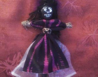 Voodoo Doll Handmade Authentic New Orleans Inspired Art Doll Voodoo