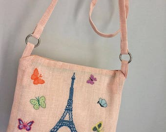 Ozz Paris Eiffel Tower Crossbody Bag