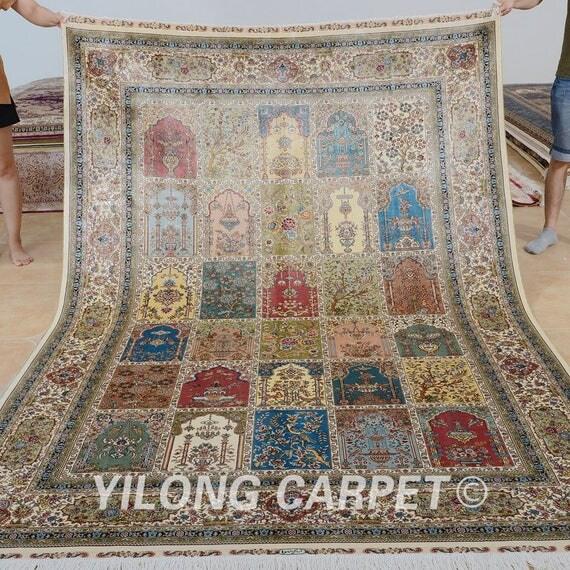 6'x9' Top Quality Oriental Rug Persian CarpetTurkish