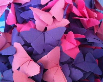 small origami butterflies
