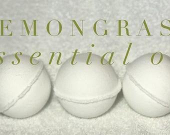Lemongrass Essential Oil Bath Bomb