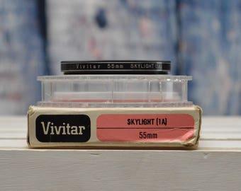 Vivitar 55mm Skylight (1A) filter