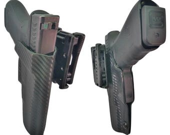 Smith and Wesson M&P Full Size 9mm/.40 Custom Kydex OWB Holster IDPA USPSA Competition Shooting