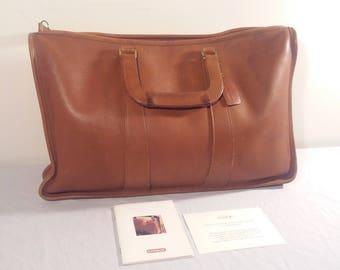 Vintage Authentic Leather Coach Briefcase