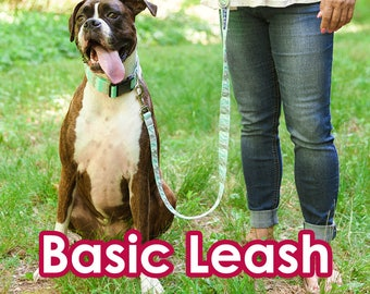 Basic Leash - Stylish and sturdy leash available in 4 sizes