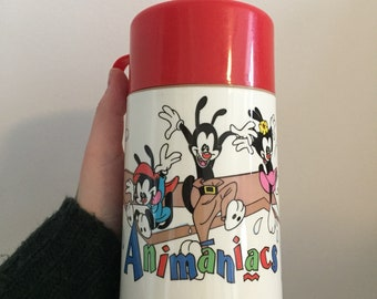 1996 Animaniacs thermos