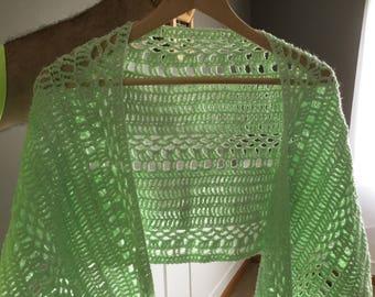 Ice mint ladies summer wrap/shawl