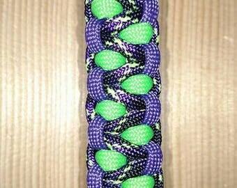 Purple, Multi, Acid Green