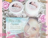 Night Cream - Oil to Sensitive - Acne Prone - Organic Vegan - Tea Tree - Aloe Vera - Vit C - Face Care - Beauty Cream Paraben Free Natural