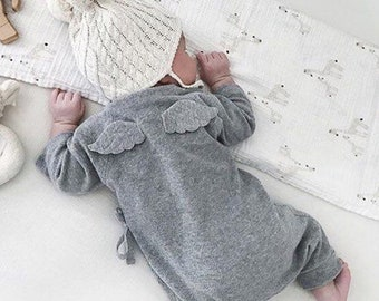 Baby Angel Wing Rompers