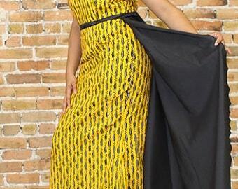 M A Ankara  Dress