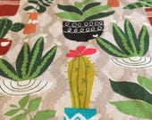 Cactus All Over (4) Cloth Dinner Napkins #1