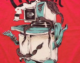 FRONTIER Illustration shirt by indie film lab