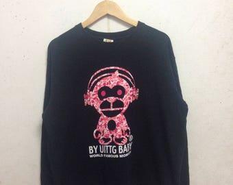 Vintage 90's Uittg Baby Sweatshirts Size LL