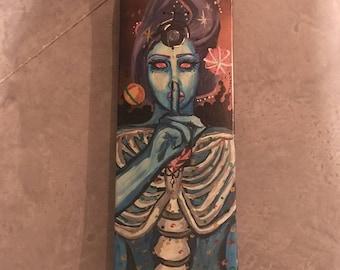 Space Vixen Skate Deck
