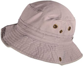 Cotton Bucket Hats BK Caps with String