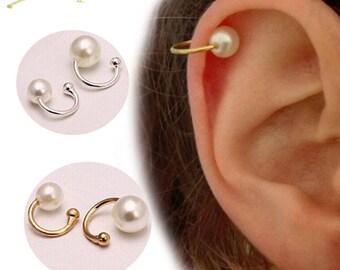 Pearl Cuff Earring