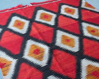 Navajo Rug/Navajo blanket/aztec rug/southwest rug/native american rug/kilim rug/flatweave rug/boho rug/vintage rugs/antique rug/wool rug/rug