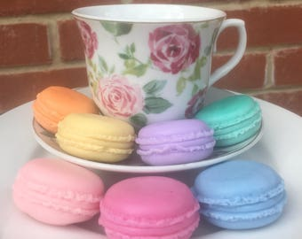 Macaroon pastel guest soaps (set of 3)