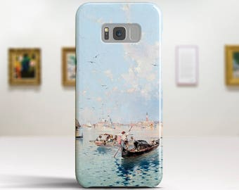 "F. Unterberger, ""Saint Marks Square, Venice"". Samsung Galaxy S8 Case LG V30 case Google Pixel Case Galaxy J7 2017 Case and more."