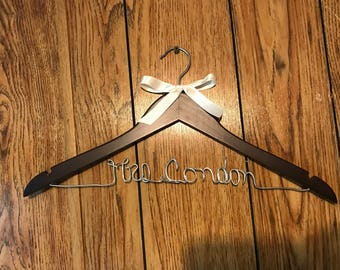One Line Wedding Gown Hanger