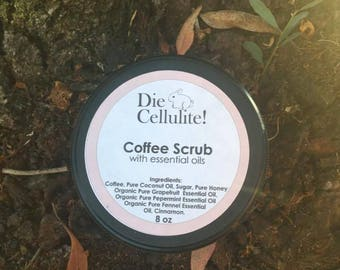 Anti Cellulite Coffee Scrub