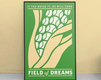 Field of Dreams Minimalist Poster