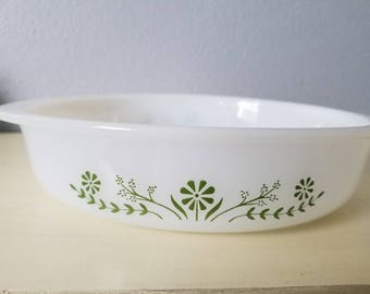 Vintage Glassbake pie pan