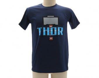 Short sleeve t-shirt t-shirt THOR Avengers size XL