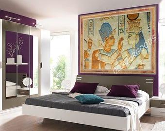 Egypt Wall Mural || Peel & Stick || Removable || High Quality Materials || DIY