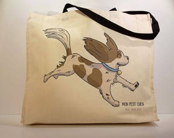 Cavalier King Charles shopping bag - Tote bag for Dog lovers