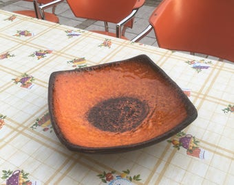 Vintage serving bowl Bowl ceramic vintage plate