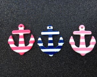 4pc. Striped Anchor
