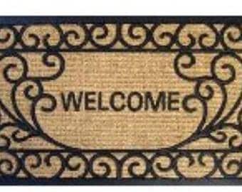 Dollhouse Miniature Welcome Mat