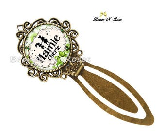 "Bookmark ""Dear Grandma"" accessory gift party green great grandmothers"