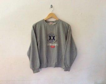90's Vintage Japan LEVI'S XX Dear Levi's Sweatshirt