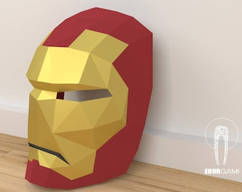 Ironman Mask - Papercraft - Make your own